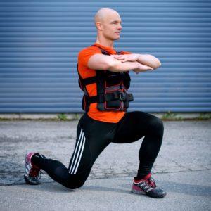 Viktvästar är perfekt till all sorts kroppsviktsträning.